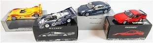Porsche 4 model cars