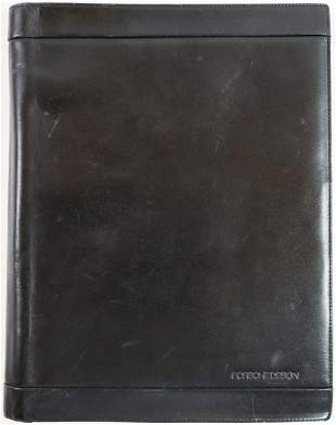 Porsche Leather notebook Porsche Design from the 80s