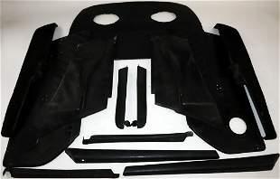 Porsche Original and complete leather interior for