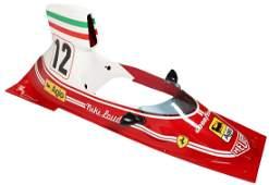 Ferrari Cockpit cover for the Formula 1 model 312 T
