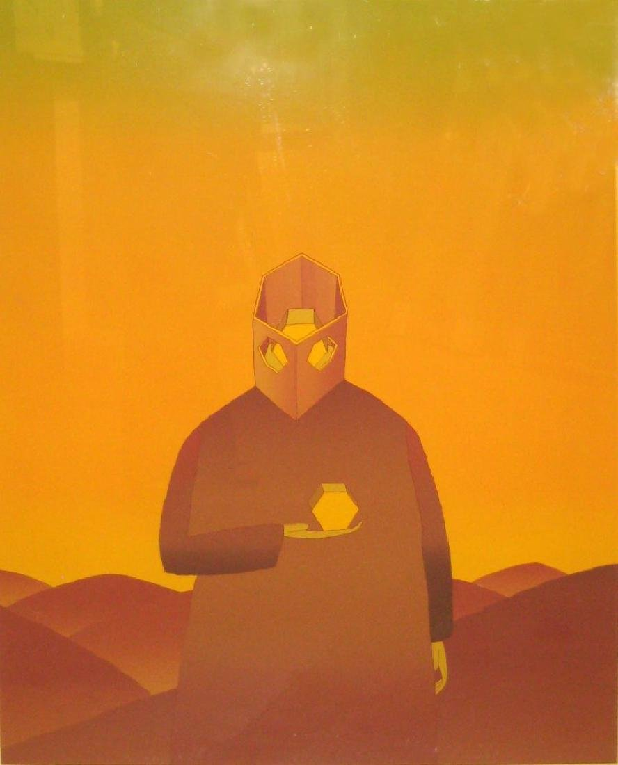 """Jean Michel Folon, """"Lume"""", Print"""