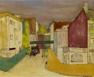 """Alex Katz,""""Untitled"""", 1946,Oil on canvas"""