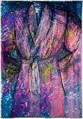 "Jim Dine,""Untitled (Robe 7)"", 2006,Signed on"