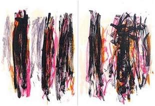 """Joan Mitchell,""""Trees IV, from the Tree Series"""", 1992"""