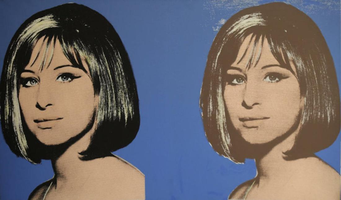 "Michael McKenzie,""Double Diva (Streisand)"", 1995,Verso"