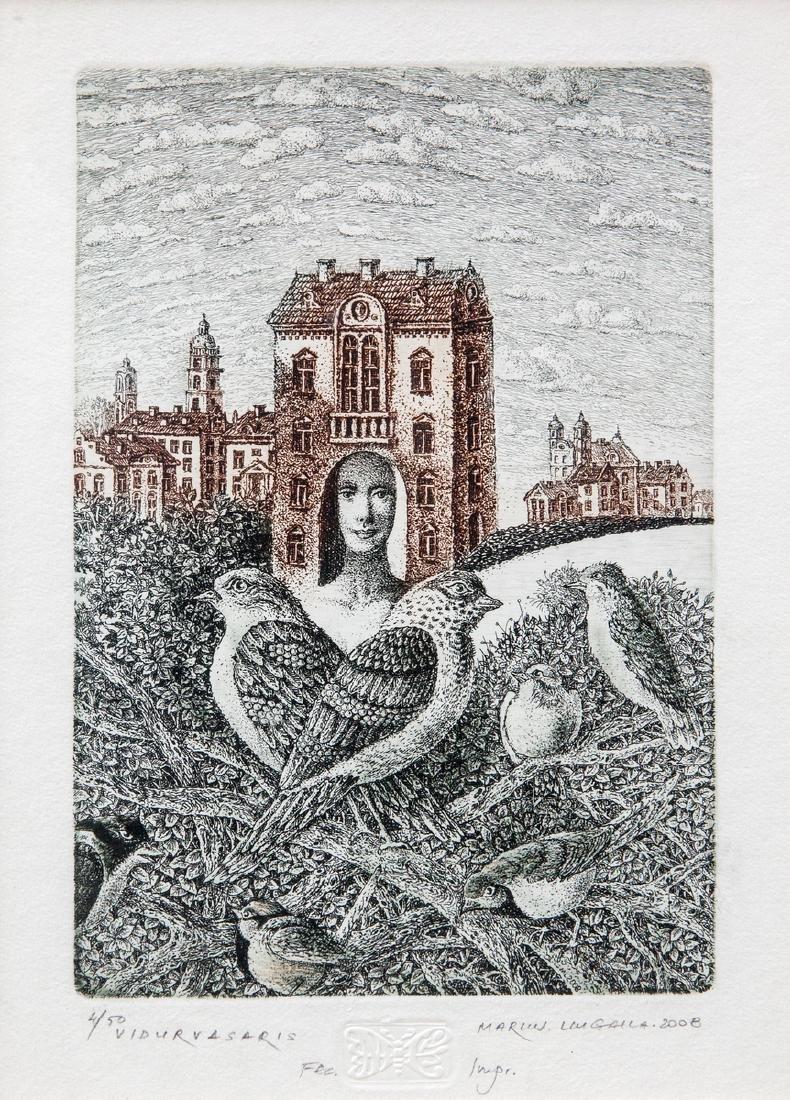 Marius Liugaila lithography Lithuania Lithuanian