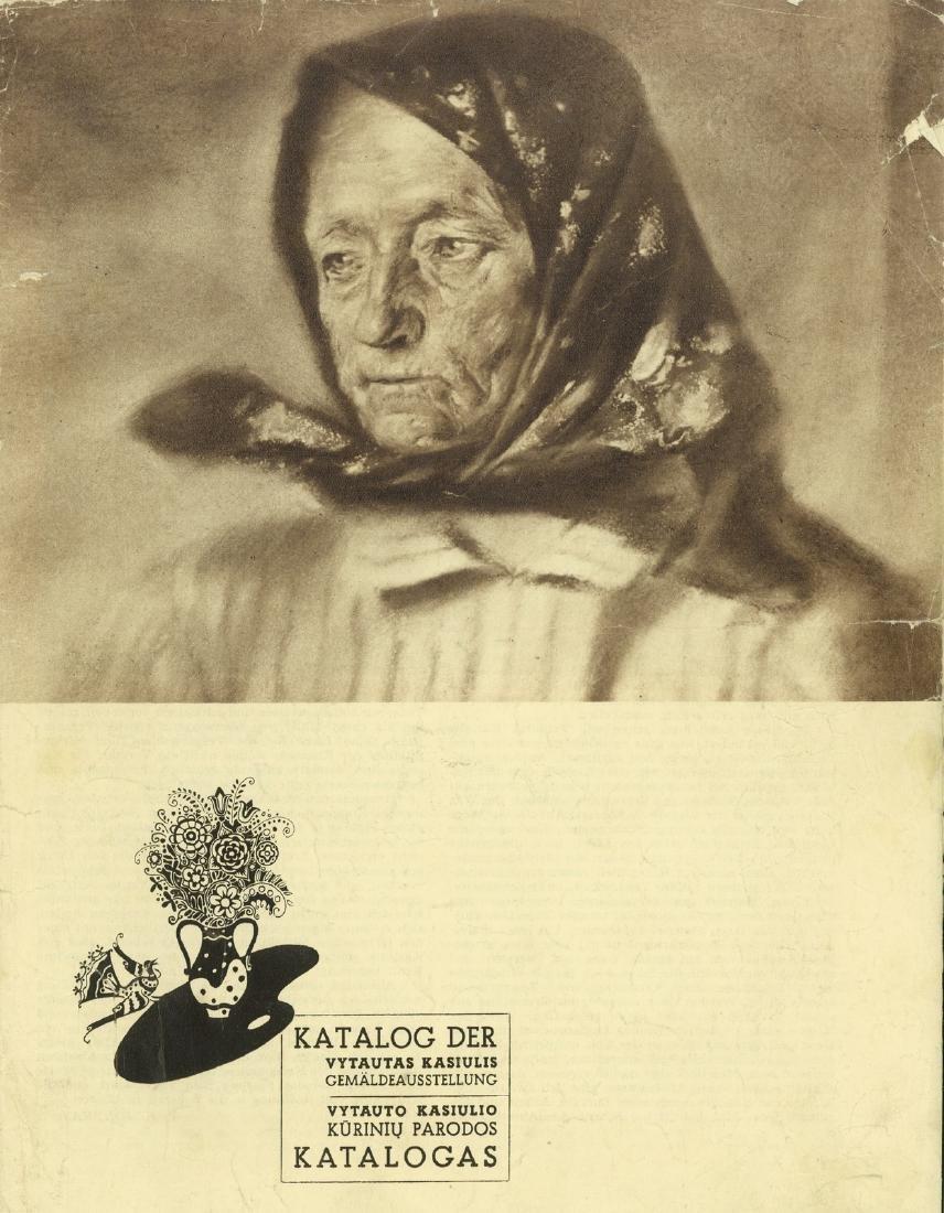 Vytautas  Kasiulis catalog Lithuania Lithuanian
