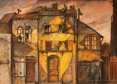 Samuel Bak painting Lithuania Lithuanian