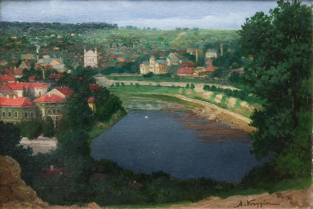 Adam Krygier painting Polish Vilna Wilna