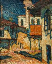 Aleksander Szturman painting Lithuania Lithuanian