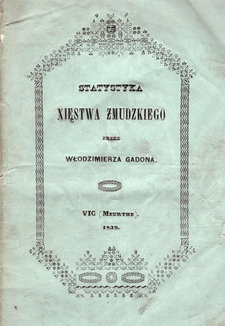 Wlodzimierza Gadona Lithuania Poland