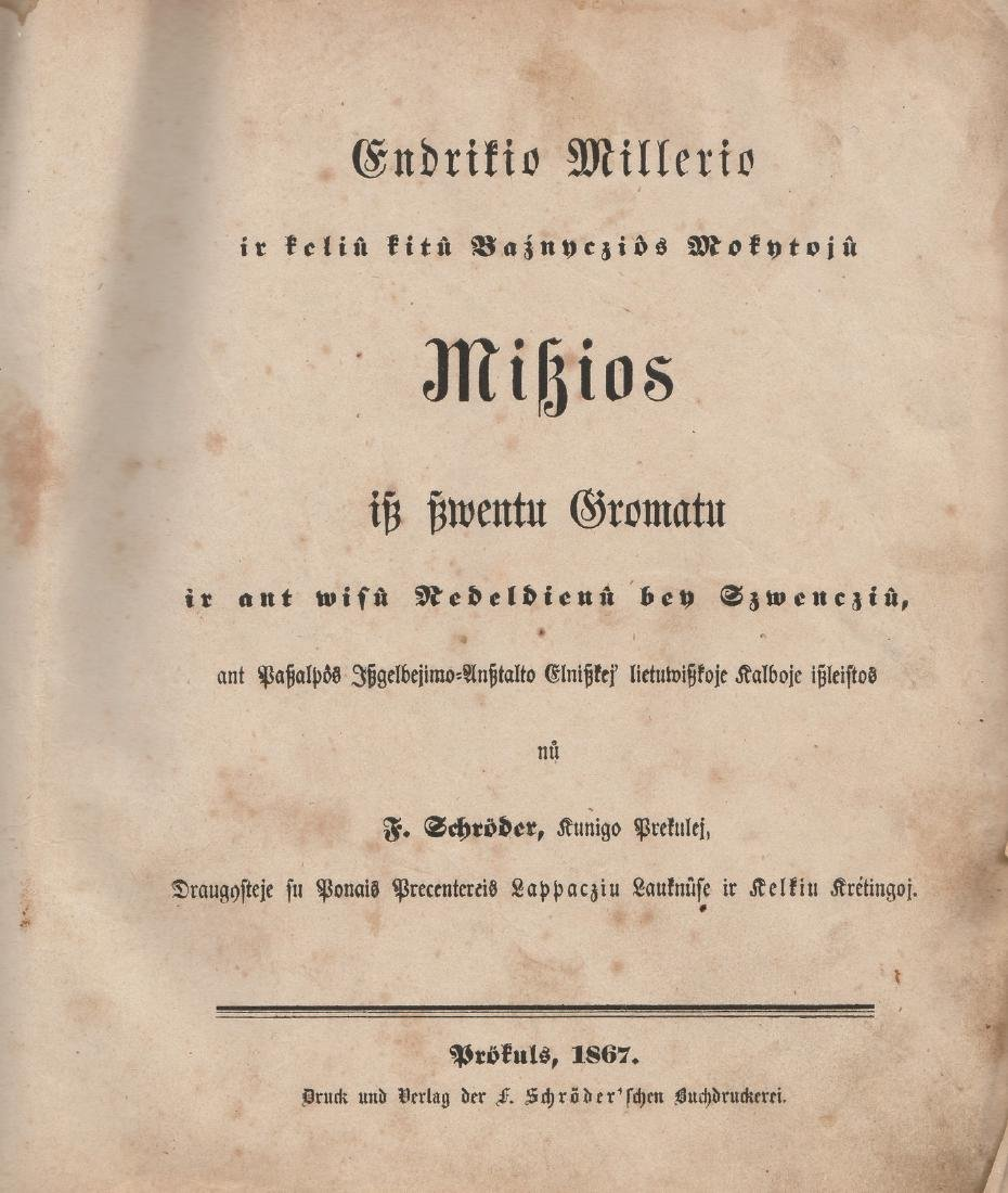 Heinrich 1867 Lithuania