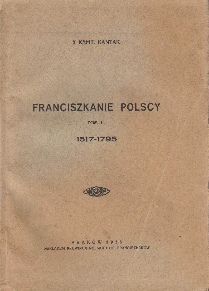 1937 Polish Poland Krakow Franciscans - 2