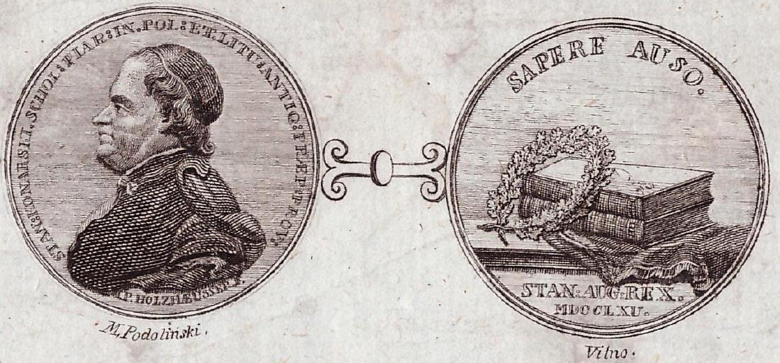 Podolinski Vilna 1806 Lithuania
