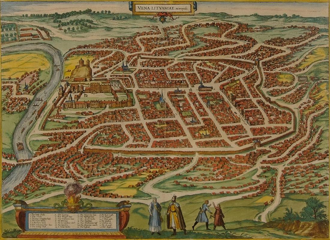 Vilna metropolis 1581 Lithuania Lithuanian