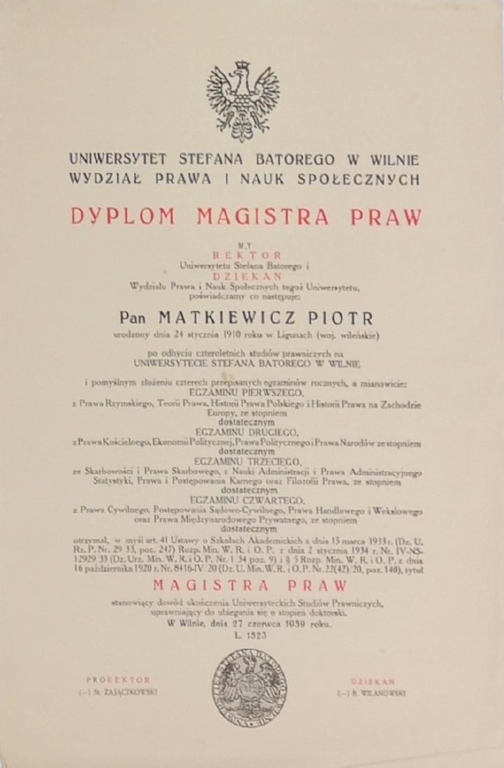 Matkevicius Lithuania Lithuanian
