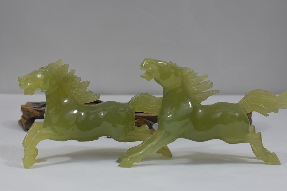 Chinese Serpentine Jade Scupture 20th c - 5