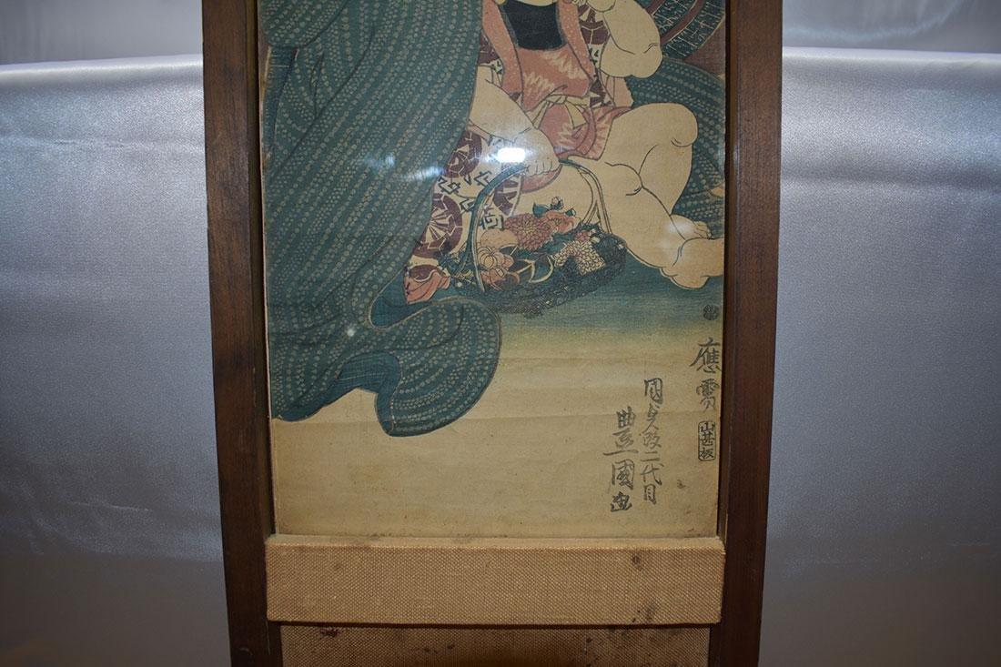 Japanese Woodblock Print 19C - 2