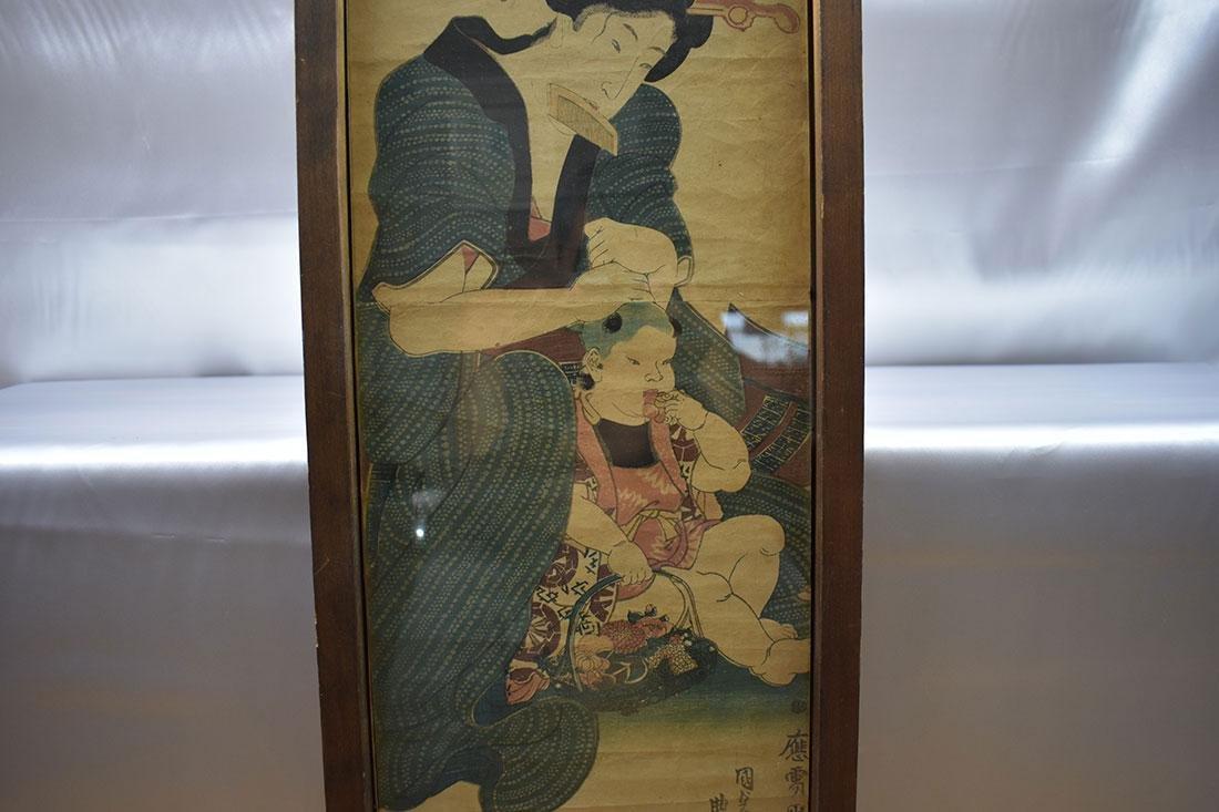 Japanese Woodblock Print 19C - 3