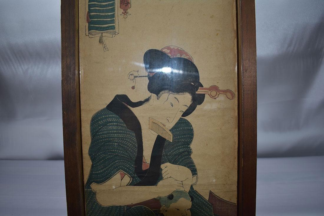 Japanese Woodblock Print 19C - 4