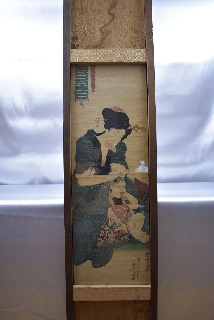 Japanese Woodblock Print 19C - 7
