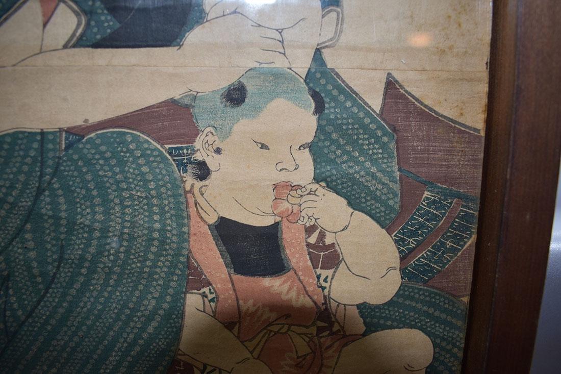 Japanese Woodblock Print 19C - 8