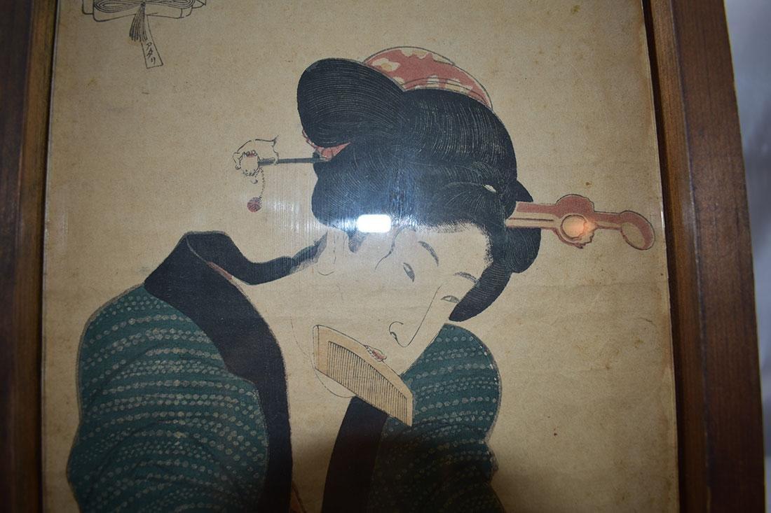 Japanese Woodblock Print 19C - 9