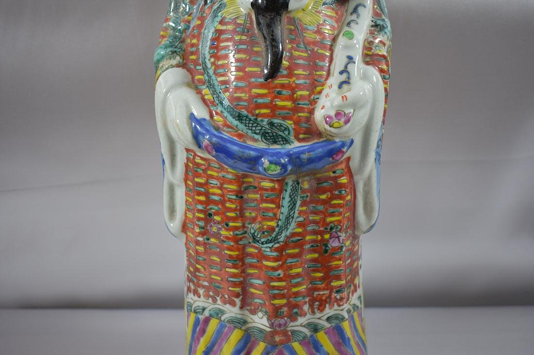 Chinese Famille Rose Figure - 3