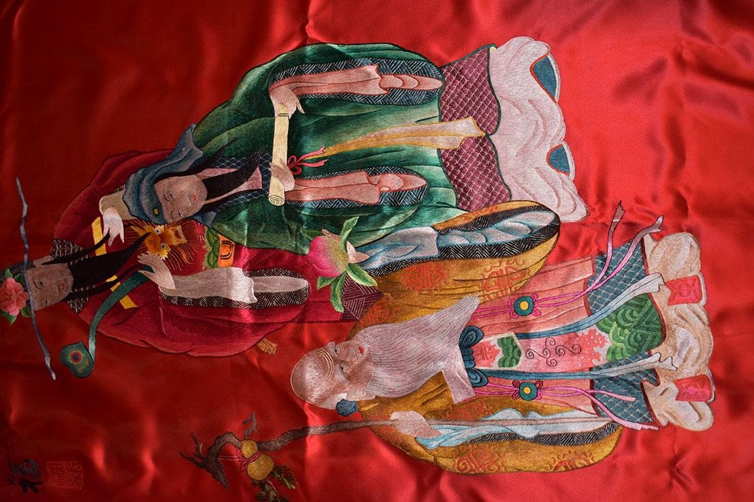 2 Chinese Silk - 2