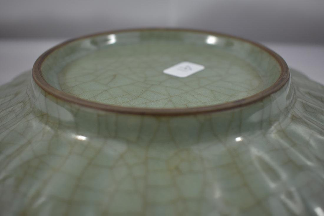 Chinese Celadon Plate - 6