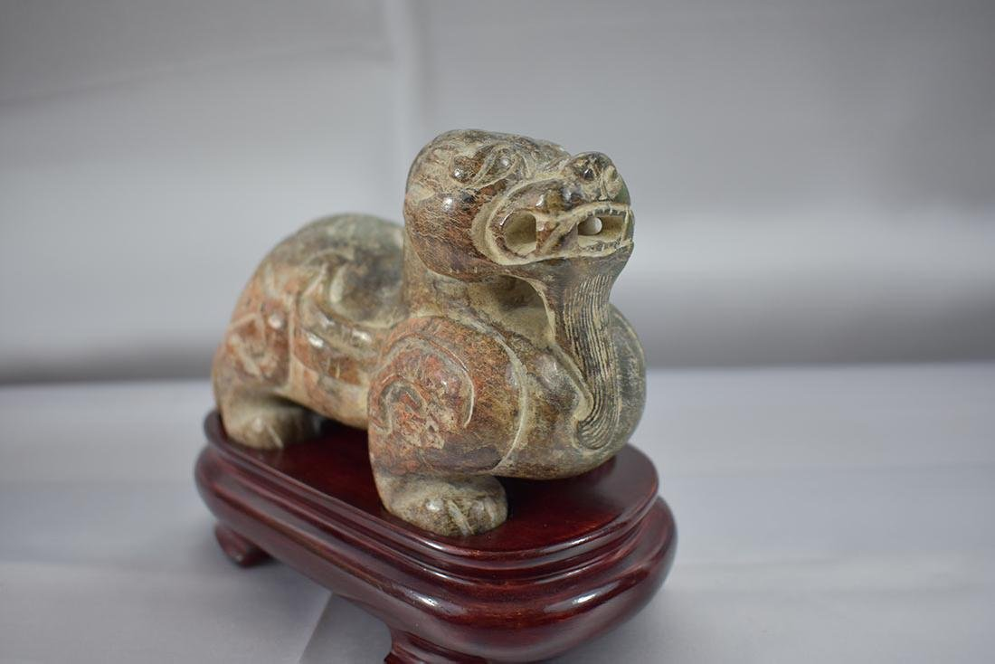 Chinese Hardstone Animal Carving - 8