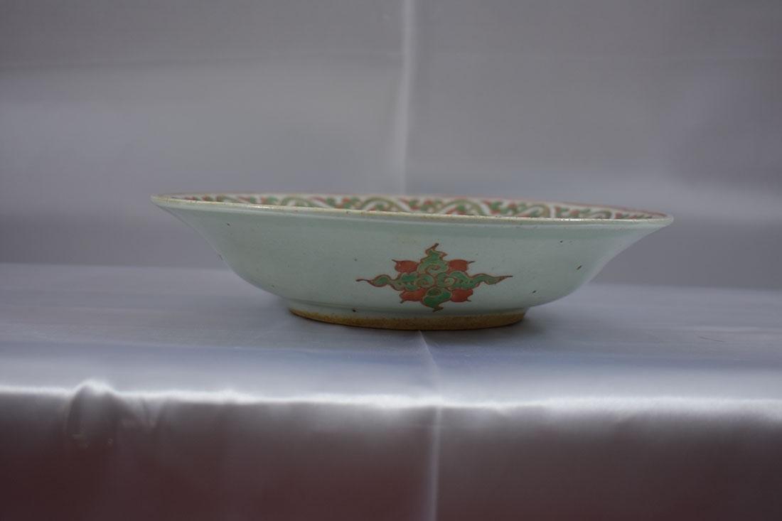 Early Chinese Wucai Bowl - 6