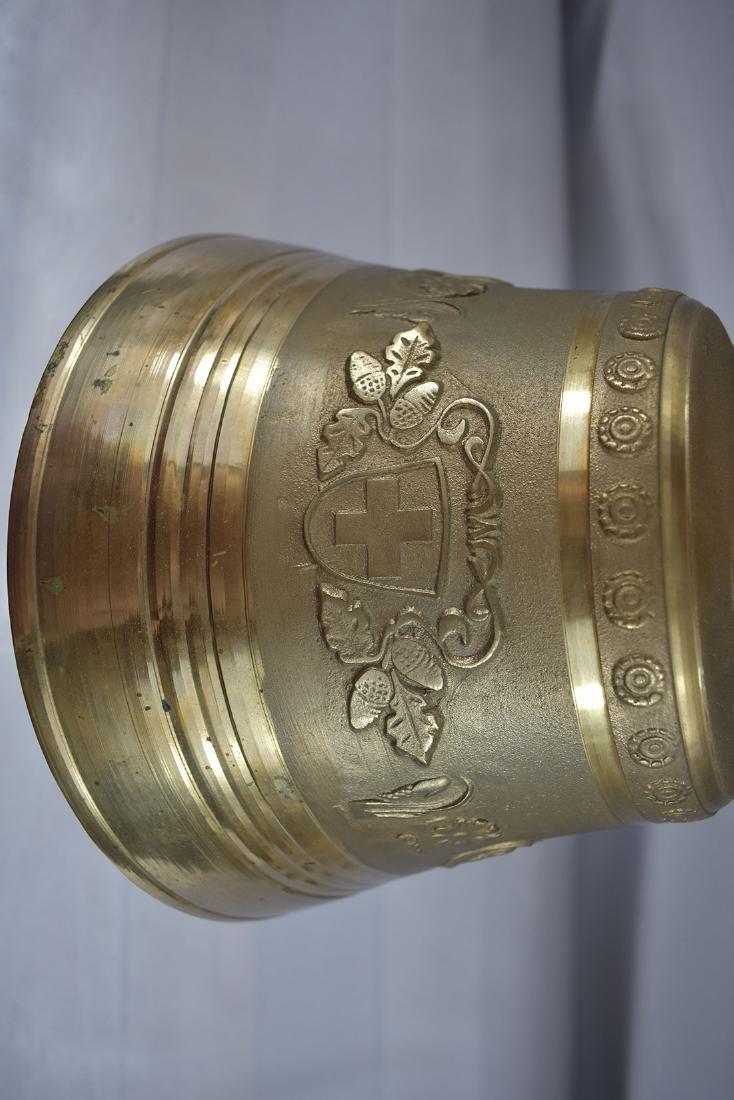 Vintage Brass Bell Gussett Uetendorf Giesserei - 6