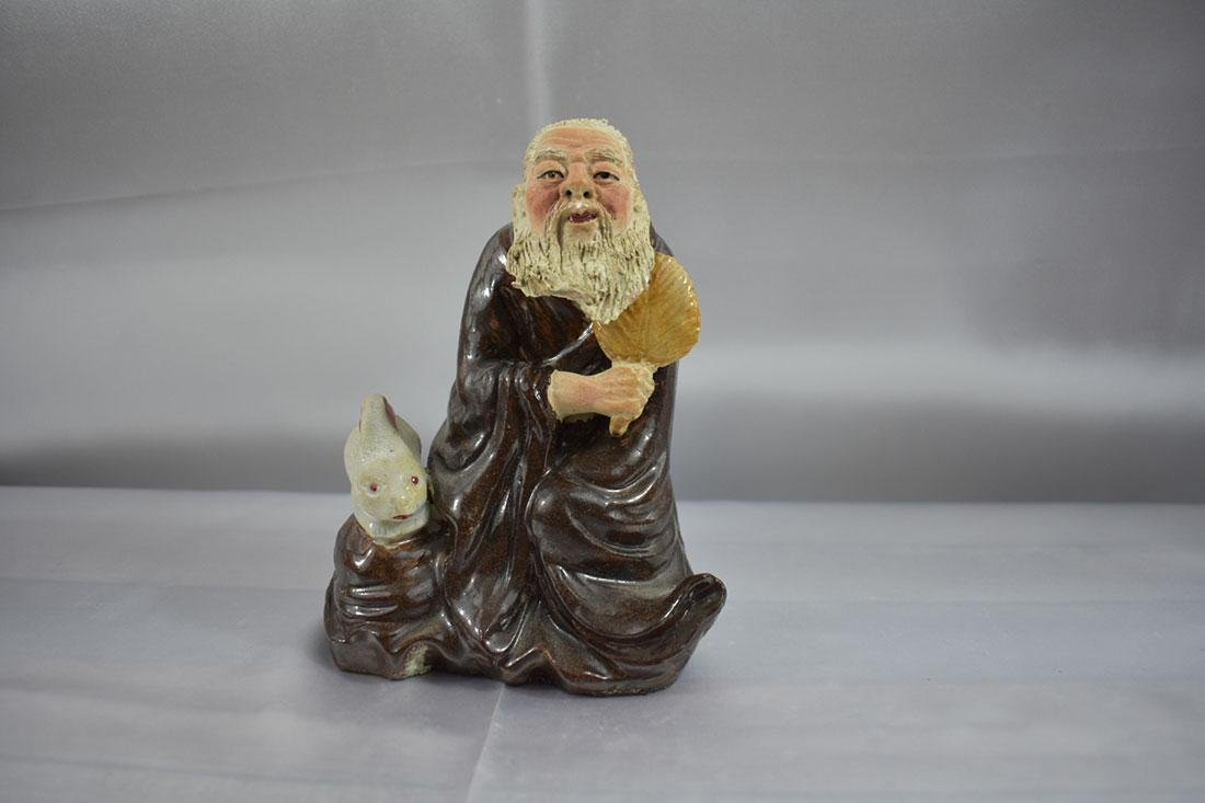 Chinese Famille Rose  Porcelain Figure Circa 1920