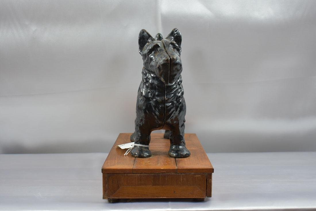 Vintage Hubley Scottie Dog Door Stop - 2