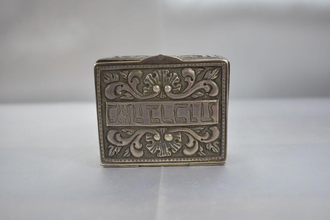 Antique Judaica Silver Box