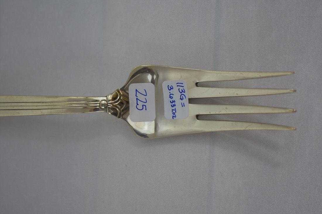 Tiffany & Co. Sterling Servering Fork - 3