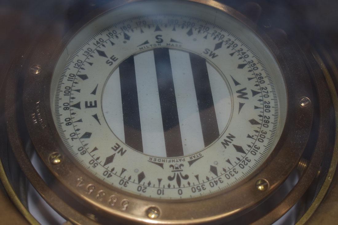 John Bliss & Company Starfinder Bronze Compass - 2