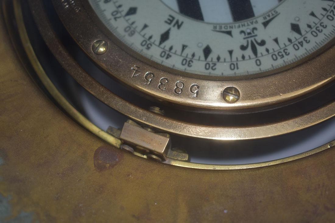 John Bliss & Company Starfinder Bronze Compass - 3