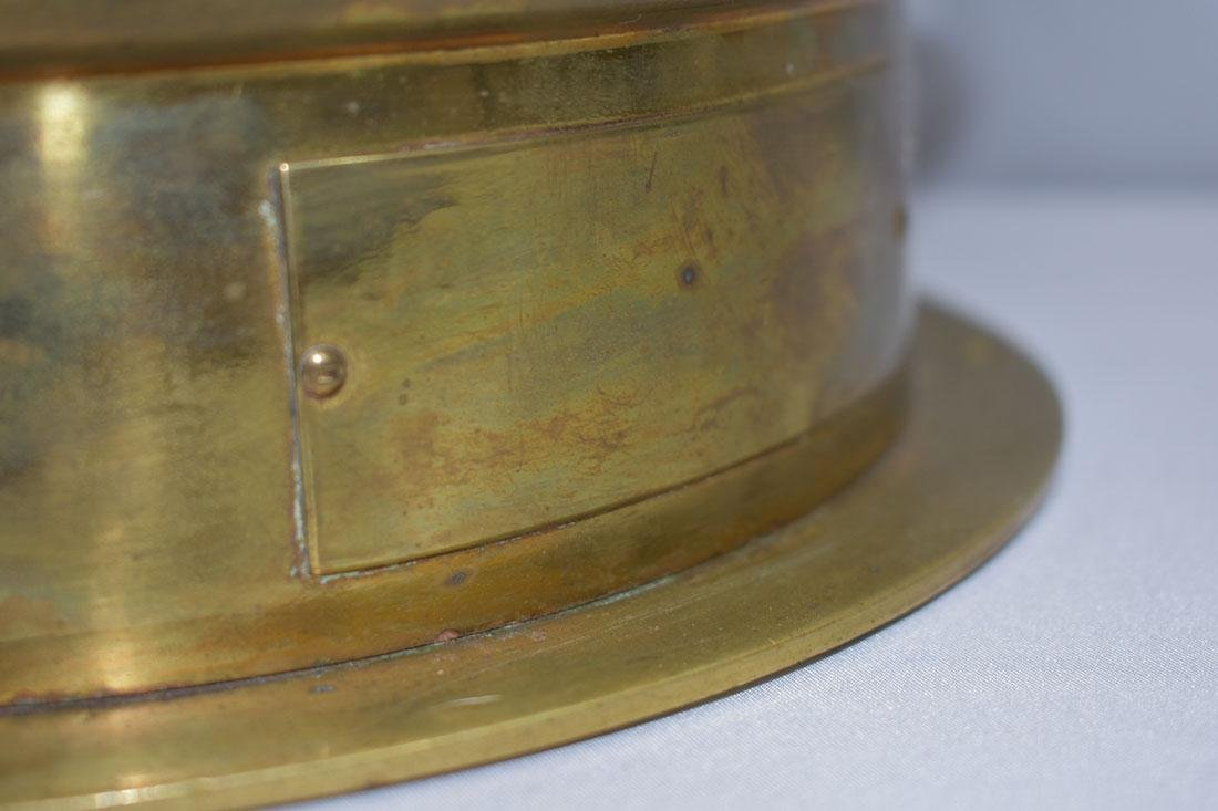 John Bliss & Company Starfinder Bronze Compass - 4