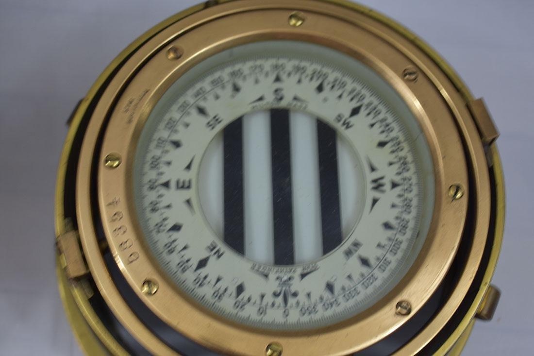 John Bliss & Company Starfinder Bronze Compass - 5