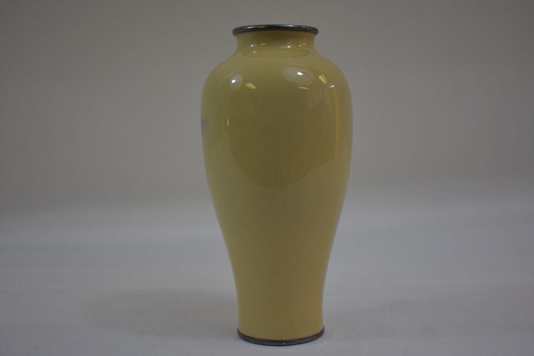 Fine Antique Japanese Cloisonne Vase Signed - 3