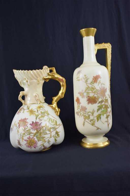 Lot 2 Royal Worcester Vases 19 20 C