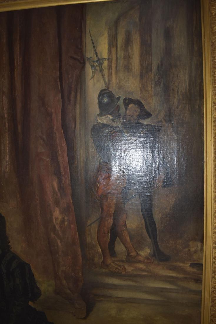 Anton Ramako  Austrian Painting Columbus & Isabella - 5