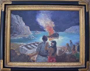 Robert Lebron 19282013 Painting The Last Of Mutini
