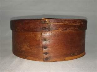 Antique Primitive Round Pantry Box 19th C