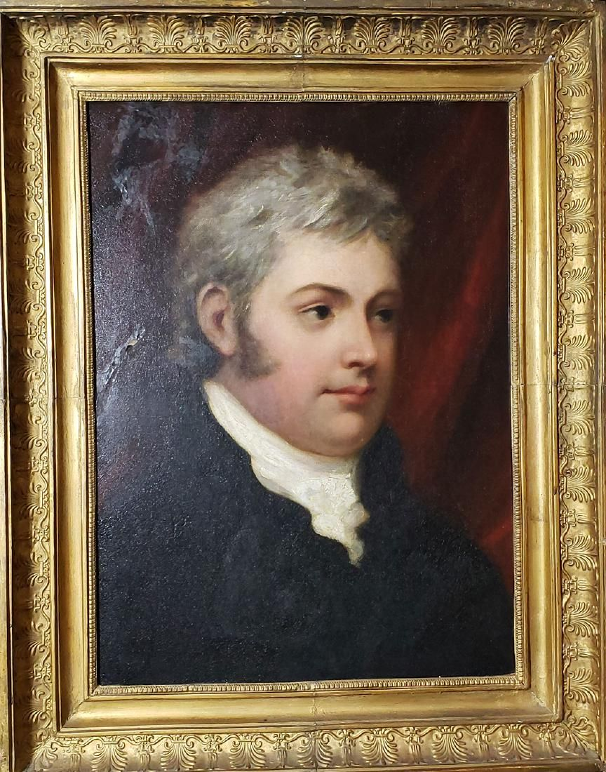 19th C Henry Howard R.A 1769-1847 Portrait Painting