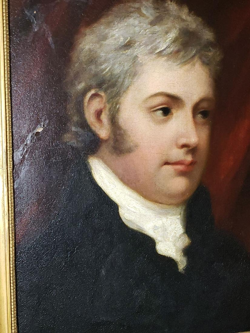 19th C Henry Howard R.A 1769-1847 Portrait Painting - 9