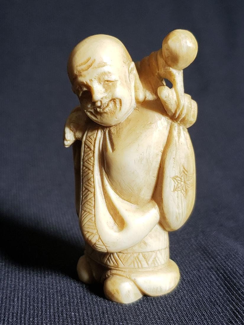 Antique Japanese Buddha 19th Century