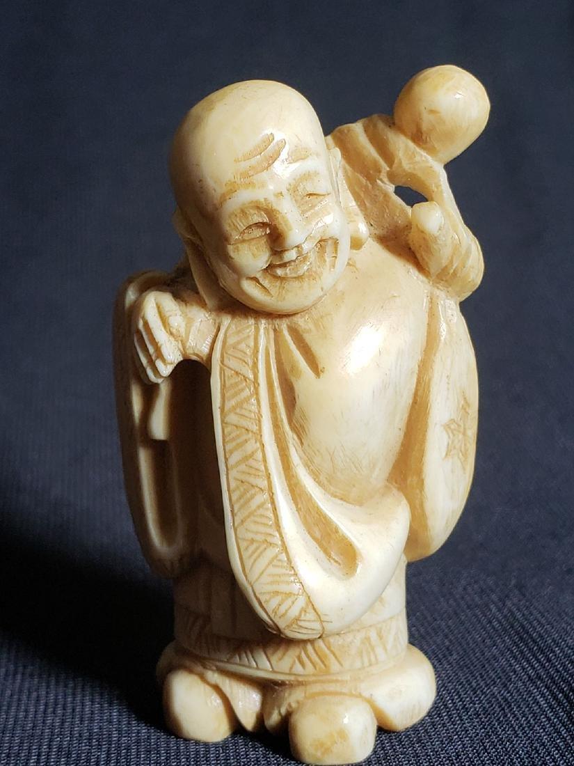 Antique Japanese Buddha 19th Century - 2